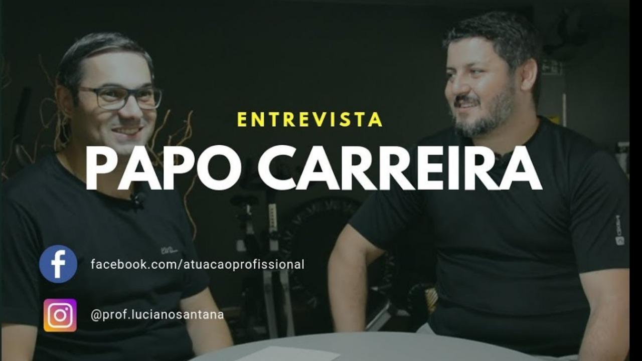Papo Carreira com o Ator Leandro Fóz